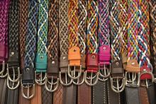 Cinturones De Piel En Colores