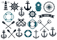 Nautical Themed Design Elements