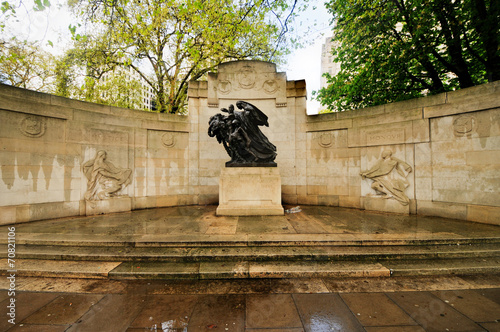 Anglo-Belgian Memorial, London, UK Wallpaper Mural