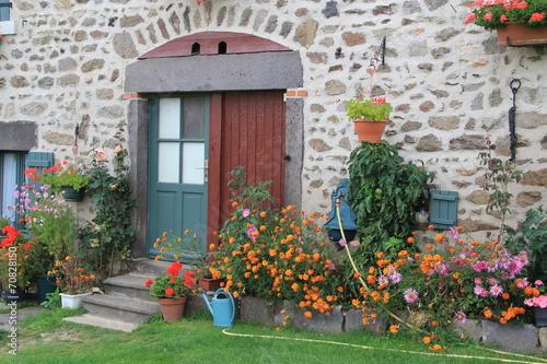 Fotografia  maison auvergnate