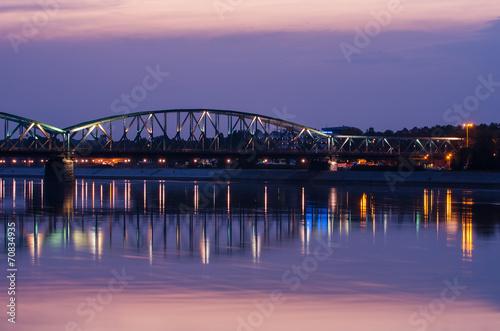 Fototapeta Most Piłsudskiego w Toruniu