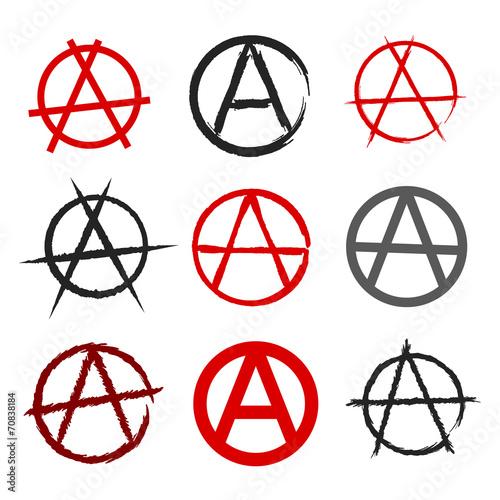 Photo Anarchy symbol