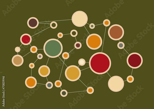 Fotografering  schéma réseau