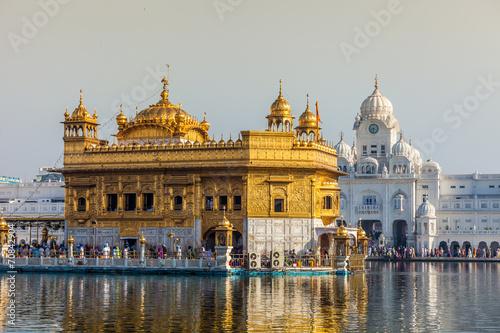 Staande foto India Sikh gurdwara Golden Temple.Amritsar,Punjab,India