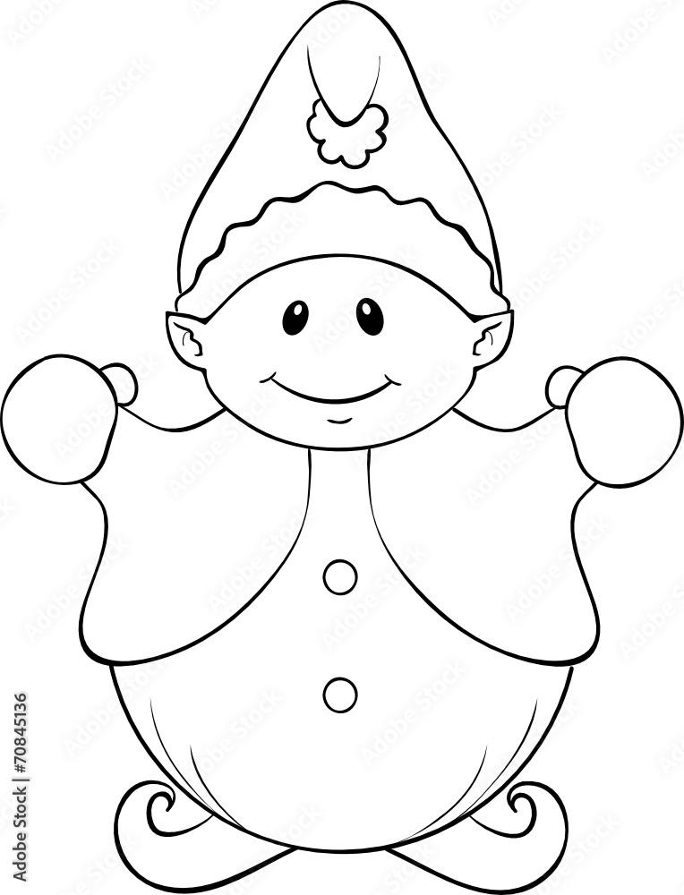malvorlage weihnachtswichtel  wichtel malvorlage  jetzt
