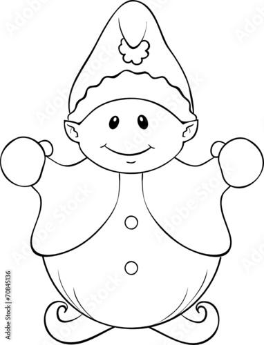 malvorlage weihnachtswichtel  malvorlagen in der
