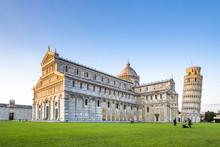 Italy, Tuscany, Pisa, View To ...
