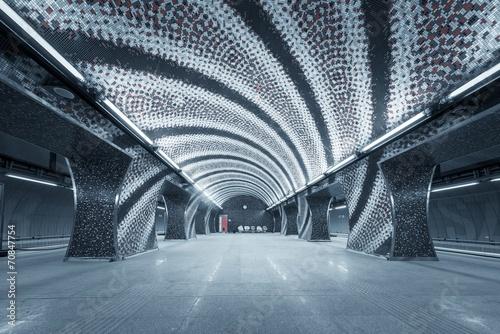 Valokuva Subway station in a big city