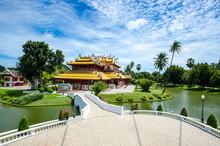 Chinese Temple In Bang Pa-in At Ayutthaya Thailand