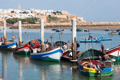 Poster Maroc Barche