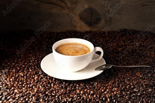 Deurstickers koffiebar tasse kaffe