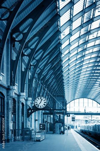 Modern building London King's Cross Station Wallpaper Mural