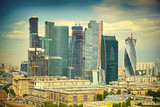 Moscow skyline and business center Moscow-City - 70861514