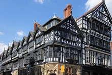 Tudor Buildings, Chester © Ar...