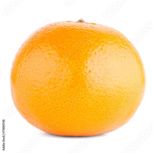 Fototapeta Ripe tangerine or mandarin obraz na płótnie