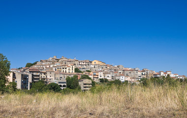 Fototapeta na wymiar Panoramic view of Pietragalla. Basilicata. Italy.