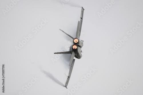 Fighter Jet Afterburner Canvas Print