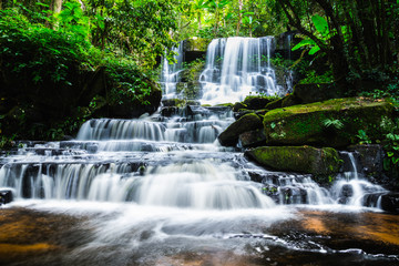 Panel Szklany waterfall mandaeng thailand ,Man Daeng