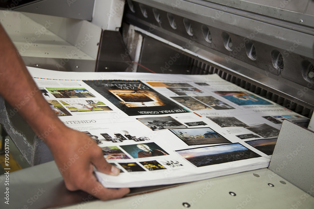 Fototapety, obrazy: Printing processes