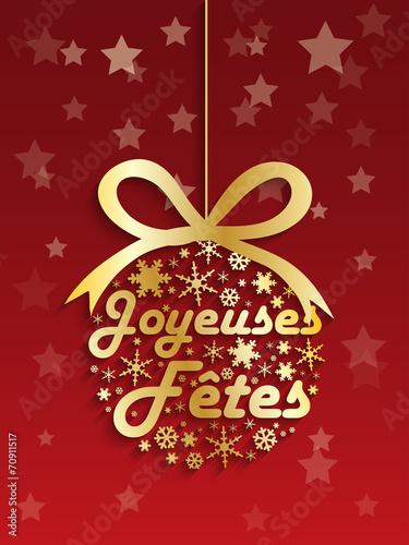 Carte Bonne Fete Noel.Carte Joyeuses Fetes Joyeux Noel Bonne Annee Meilleurs