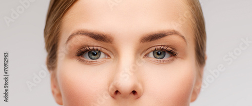 face of beautiful woman Fototapeta