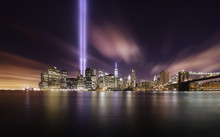 9-11 Tribute Lights,Manhattan ...