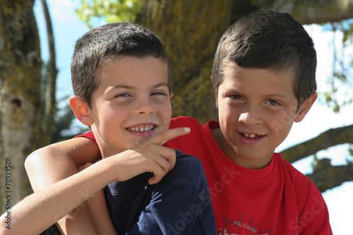 Photo  Enfants tendres
