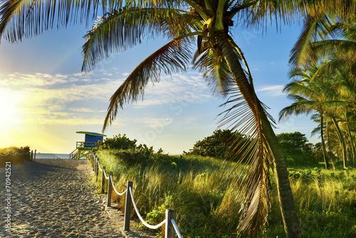 Keuken foto achterwand Verenigde Staten Lifeguard Tower, Miami Beach, Florida