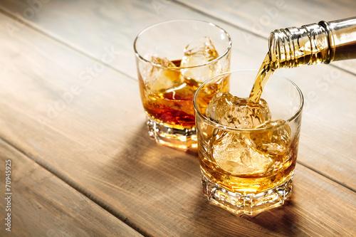 Stampa su Tela ウイスキー whisky