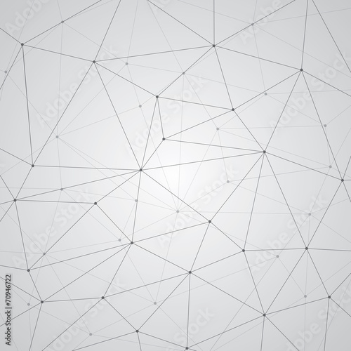 Photo  Abstract background, geometry, lines and points