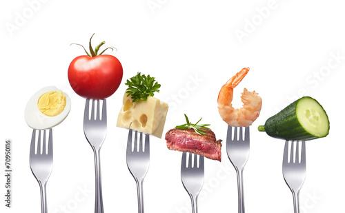 Vielseitige Ernährung