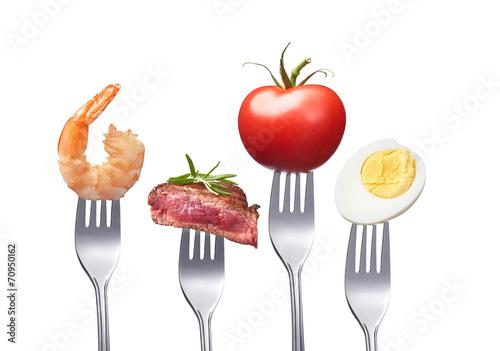 Printed kitchen splashbacks Fresh vegetables Sehr gesund