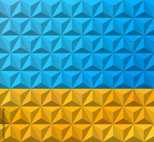Foto op Aluminium ZigZag Abstract summer themed pattern