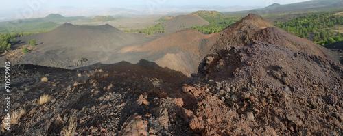 Fényképezés  Volcanic Crater In Etna National Park, Sicily