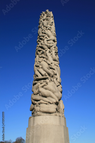 Photo  Monolith Vigelandsanlegget