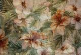 ściana kwiatów - 70978787