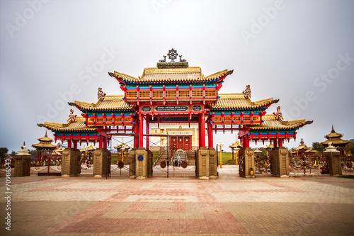Foto op Plexiglas Japan Golden Abode of Buddha Shakyamuni