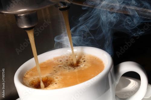Photo  frischer Kaffee