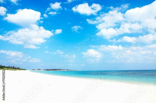 Fotobehang - 沖縄のビーチ