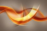 streszczenie pomarańczowa fala - 71027990