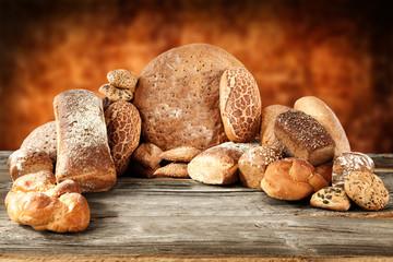 Naklejka bread