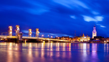 Kampen City Blue Hour