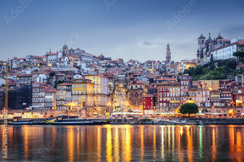Porto, Portugal from Across the Douro River