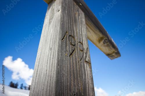 Fotografia  Crocifisso in legno