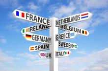 Europe Signpost