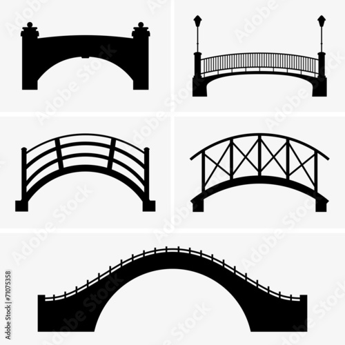 Wall Murals Bridge Bridges
