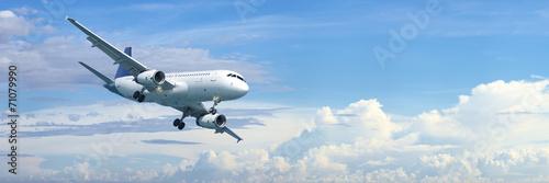 Poster Avion à Moteur Jet plane