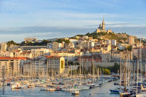 Marseille - Le Vieux Port Poster