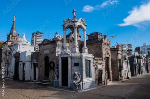 Fotobehang Buenos Aires La Recoleta cemetery in Buenos Aires, Argentina