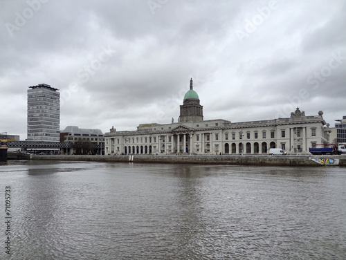 Photo  Dublin with Custom House